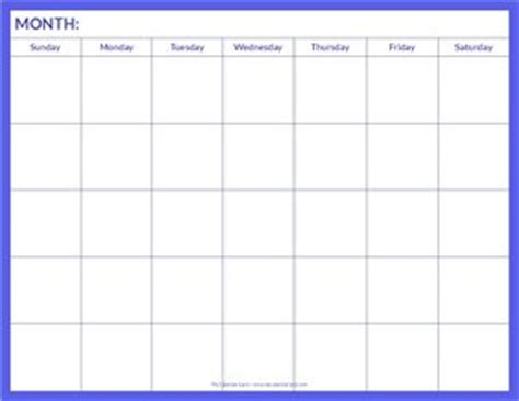 page blank calendar template blank calendars to type in free myideasbedroom
