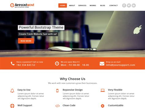 wordpress themes free blue wordpress theme directory 171 free wordpress themes