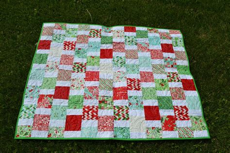 Charm Square Quilt by Magpie Quilts Easy Peasy Charm Square Quilt
