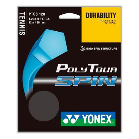Raket Yonex Set yonex polytour spin 120 tennis string set