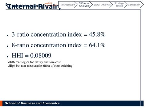 Mba Economics Concentration Definition by Competitive Dynamics In The Industry The Swatch