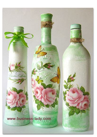tutorial decoupage botol pinterest the world s catalogue of ideas