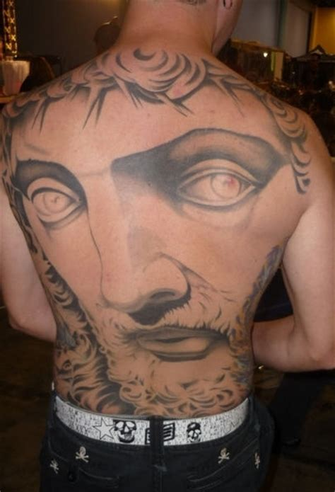 full face tattoo jesus tattoos and designs page 7