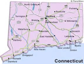 ct in us map connecticut travel guide planetware