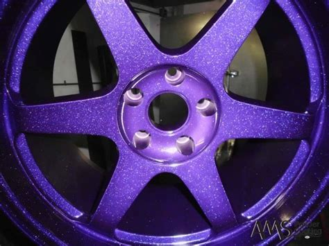 purple glitter car 160 best images about powder coated wheels on pinterest