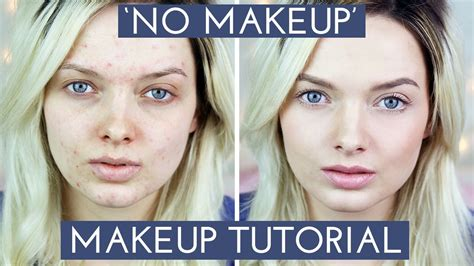 natural makeup tutorial acne acne coverag no makeup makeup tutorial mypaleskin