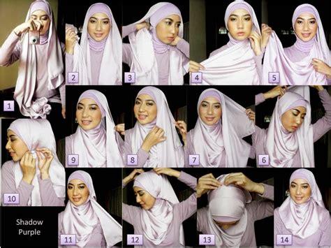 tutorial jilbab segi 4 untuk wajah bulat tutorial jilbab segi empat untuk wajah bulat