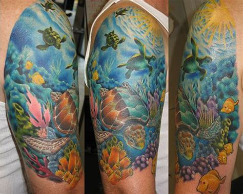 ocean inspired tattoos 1000 ideas about sleeve on sleeve