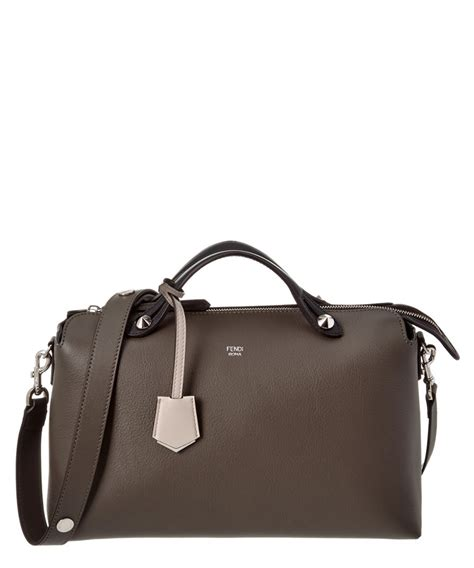 Fendi By The Way Boston Luxury 7931 1 fendi fendi large by the way leather boston bag fendi