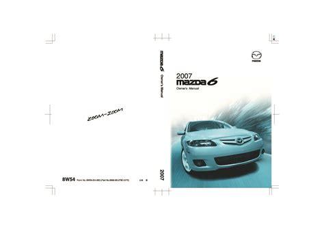 service manual best auto repair manual 2007 mazda mazda6 user handbook mazda 6 2002 2008