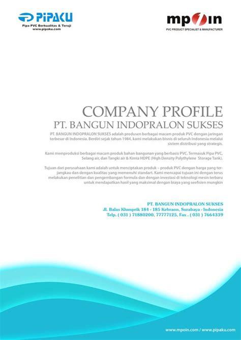 contoh desain company profile perusahaan profile company perusahaan pengertian company profile