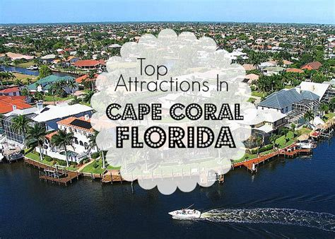 Cape Coral Records Top Attractions In Cape Coral Florida