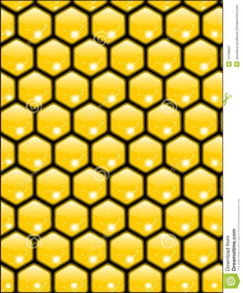 honeycomb seamless pattern royalty free vector image honeycomb texture vector royalty free stock photography image 10739637