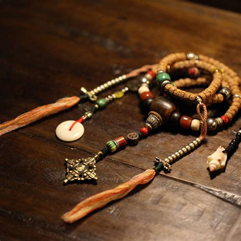 tibetan mala tibetan designer mala rudraksha seeds 108 prayer mala