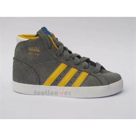 infant adidas shoes boys infant adidas basket profi i g95736 grey suede