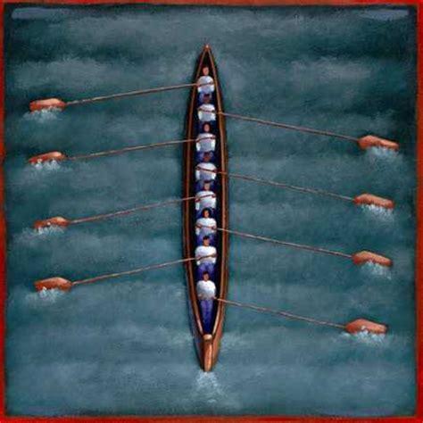 row boat sport stock illustration rowing team