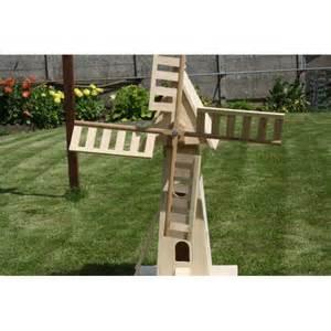 moulin de jardin en bois le artisanal