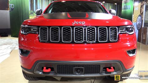 jeep burgundy 2017 2017 jeep grand trailhawk exterior and interior