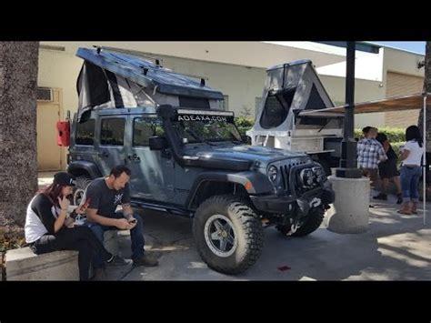 jeep jk roof top tent jeep jk quot top quot rooftop tent offroad expo