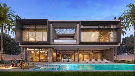 elegant  bedroom villa  dubai modern villas