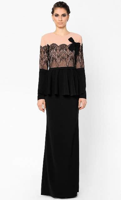 Baju Dress Blouse Liliana baju kurung moden lace terkini modest muslim wear baju kurung blouse dress and