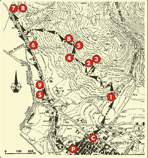 itinerario anello delle citt 224 gss itinerari carsologici