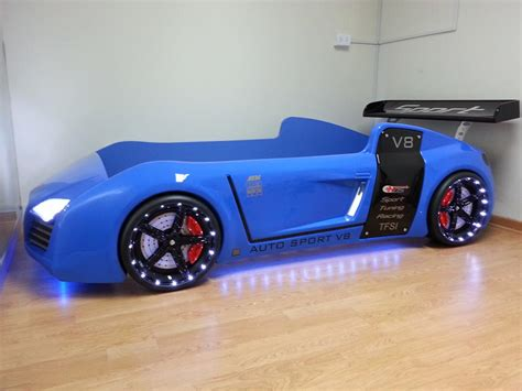 kid car bed turn your kid into a future sportscar addict with these