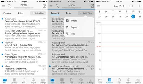 Outlook Not Searching Recent Emails Outlook For Ios On And Impressions Why It Is One Of The Best Email Apps