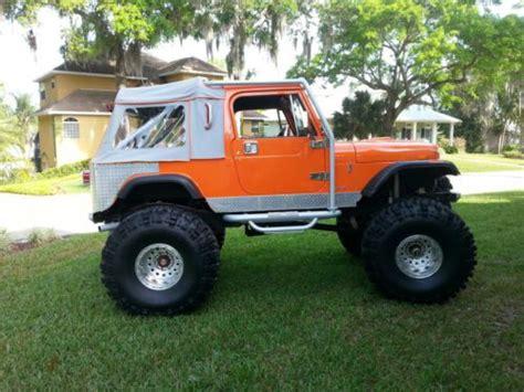 jeep scrambler custom sell used 1985 jeep cj8 scrambler custom rock crawler