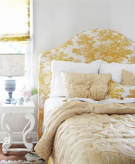 toile headboard a historic mississippi farmhouse gets a stunning restoration