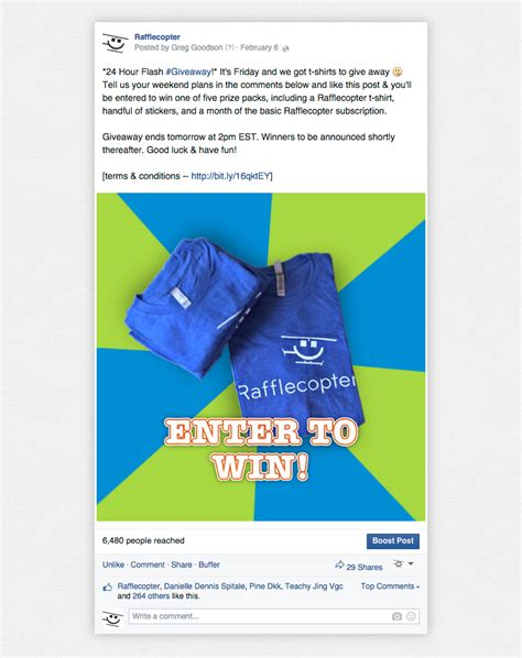 Promote Giveaway - promote your giveaway facebook rafflecopter field manual