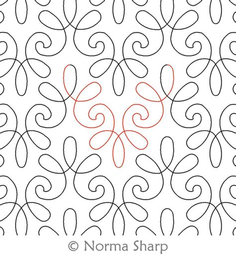 Digital Quilting Patterns by Chantilly Lace Border Or Panto Digital Quilting Designs