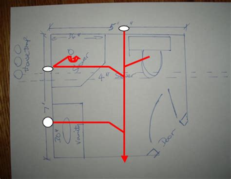 Bathroom Plumbing Diagram Concrete Slab Bathroom Trends I Need A Riser Diagram For An Slab Bathroom