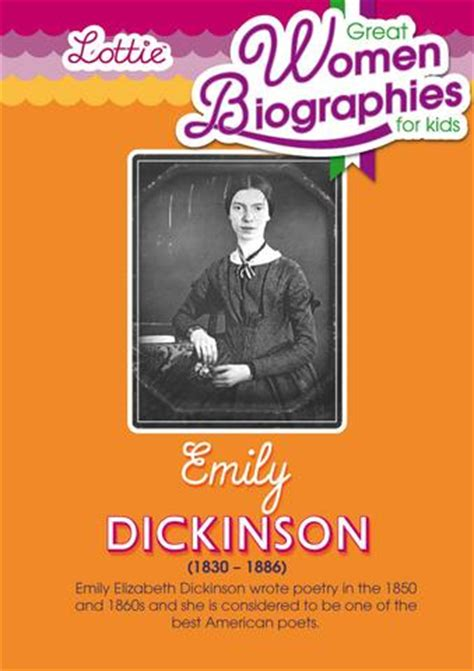 emily dickinson early life biography emily dickinson biography for kids lottie dolls