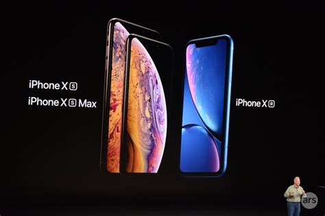 apple announces iphone xs iphone xs max iphone xr coming september 21 ars technica