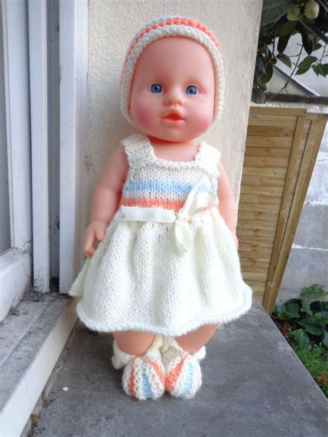 Modele Tricot Poupee modele tricot poupon 36 cm gratuit tricot 36