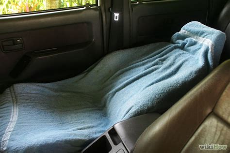 Can You A Mattress To Your Car by How To Make A Bed In Your Car 6 Steps Wikihow