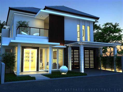 desain rumah minimalis 2 lantai gambar rumah minimalis modern 2 lantai hook desain