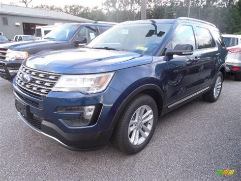 2016 ford explorer blue 2016 blue metallic ford explorer xlt 106304496