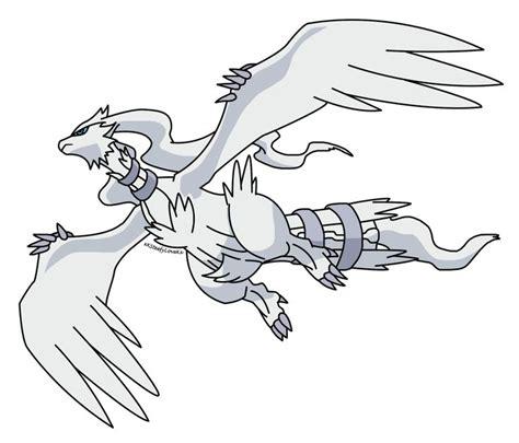 pokemon coloring pages reshiram reshiram flying by xxsteefylovexx deviantart com on