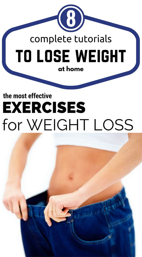 8 complete tutorials to lose weight at home the most