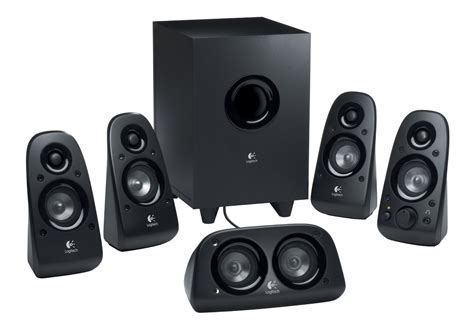 logitech z506 5 1 surround sound speakers binary messiah