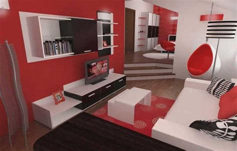 Red And Black Room Ideas | red black and white living room decorating ideas home