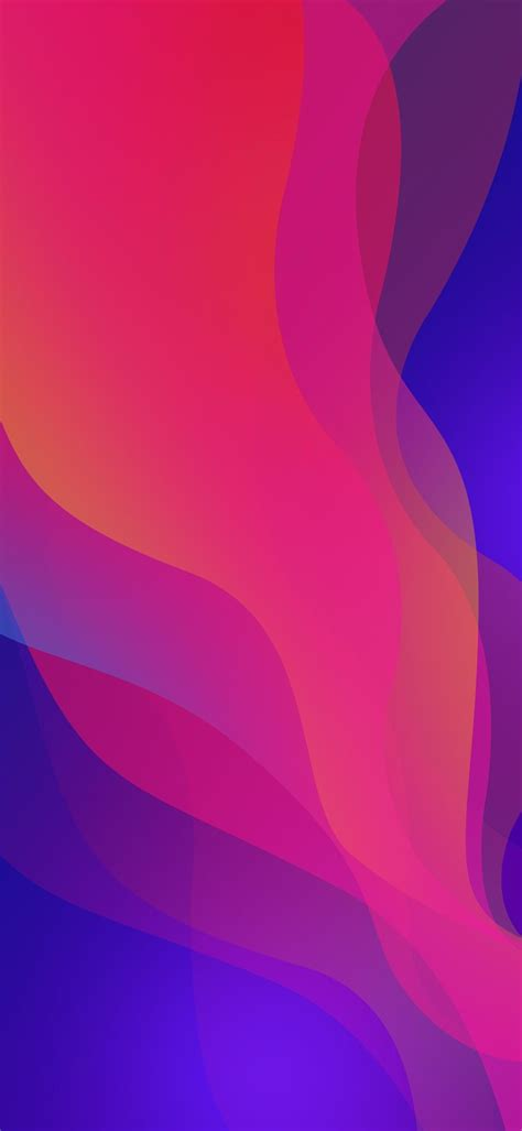 oppo find  abstract amoled liquid gradient