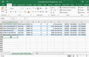 Excel Data Tables by Excel Tables Spreadsheets Made Easy