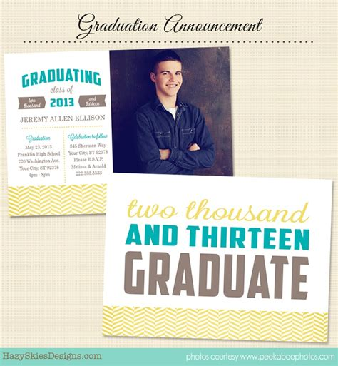 73 Best Images About Senior Marketing Templates Graduation Announcement Templates For Digital Graduation Announcements Templates
