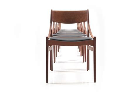 set of 6 dining room chairs set of 6 dining chairs by h vestervig eriksen room of art