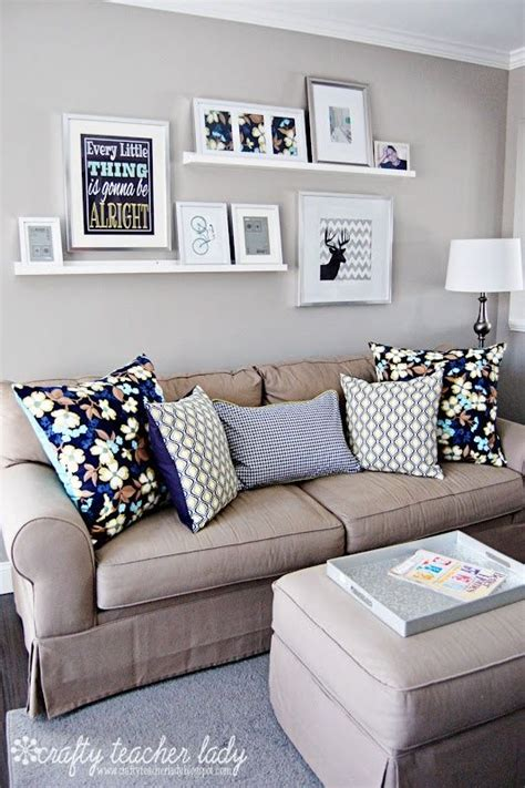 arranging pictures over sofa modern diy wall displays wall art wednesday laura