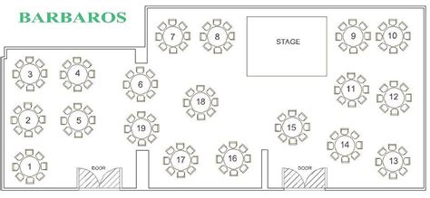 table layout in hotel round table layout sesigncorp