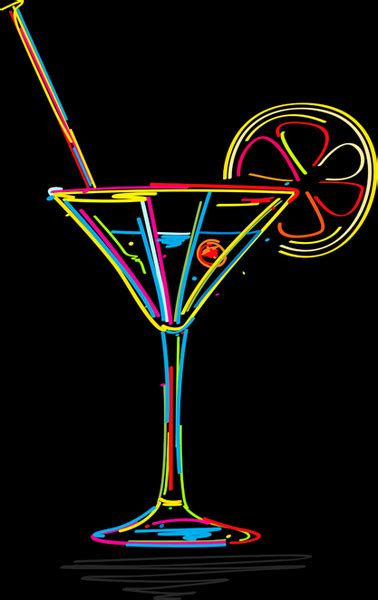 martini glass logo delicate martini glass vector free vector in encapsulated